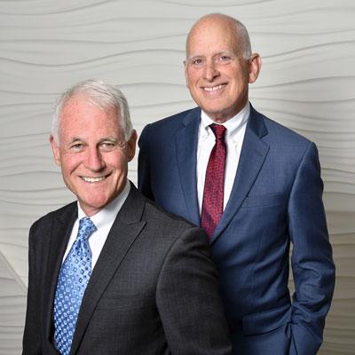 Pitt & Frank Founders: R. Michael Pitt and Stephen L. Frank
